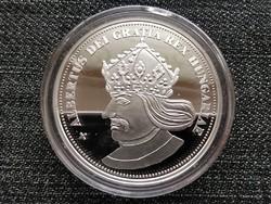 Királyi Koronák Utánveretben Albert 5 korona .999 ezüst PP (id23500)
