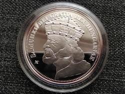 Királyi Koronák Utánveretben Aba Sámuel 5 korona .999 ezüst PP (id23498)