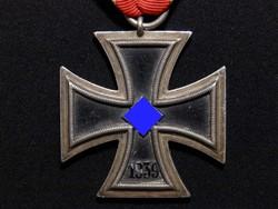 """Német 2. VH Vaskereszt Iron Cross / Eisernes Kreuz EK 2 Eisernes Kreuz """"P&C de S&L kerettel"""" 1939"""