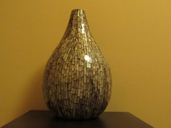 Gullfoss gyöngyház váza