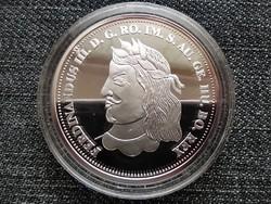 Királyi Koronák Utánveretben III. Ferdinánd 5 korona .999 ezüst PP (id23489)