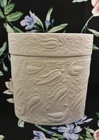 Rosenthal studio-linie Bild Wandbild fehér porcelán fedeles tároló