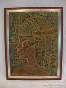 Kurdy Ilona kortárs portré festmény