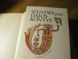 Szentsei György  .  dalos könyve     I-II    1977   nagyon szép állapot  !
