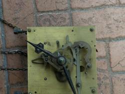 Junghans óra szerkezet, láncos felhúzású, álló óra vagy hosszú tokos falióra!