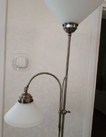 Rábalux new floor lamp, reading lamp with arm and ceiling light