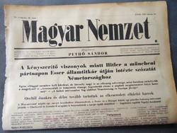Hitler a müncheni pártnapon Esser útján intézte szózatát Németországhoz  - Magyar Nemzet 1943