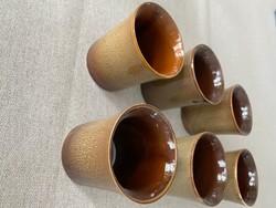 Kávéscsésze / feles pohár - 6db