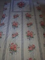 Meseszép vintage stílusú rózsás ágyneműgarnitúra