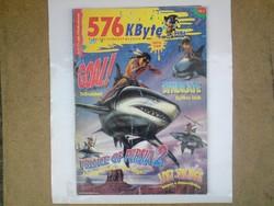 576 kbyte 1993. júlus-augusztus (dupla szám.)