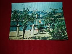Régi 3 D képeslap Budapest Halászbástya a képek szerint
