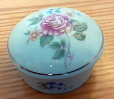 Hollóházi virágmintás bonbonier