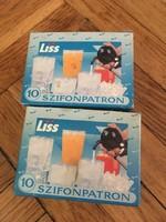 20 darab Liss szifonpatron