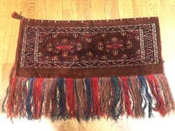 Régi yomud kézzel csomózott szőnyeg