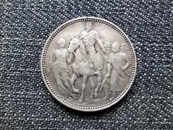 A honfoglalás 1000. évfordulója .835 ezüst 1 Korona 1896 KB (id23720)