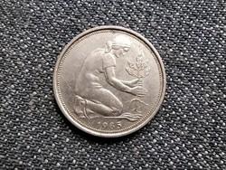 Németország NSZK (1949-1990) 50 Pfennig 1985 D (id24470)
