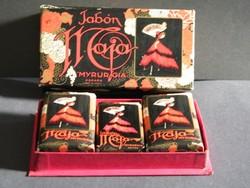 Vintage Maja Myrurgia szappanok dobozban