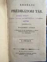Erdélyi prédikátori Tár. két kötet egyben!! Kolozsvár 1833
