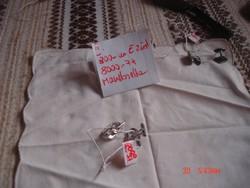 Ezüst, Mandzsetta:6000Ft