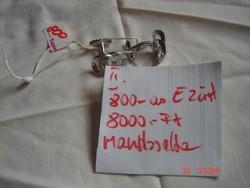 Ezüst/800.-as/ Mandzsetta