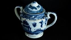 Kínai porcelán cukortartó