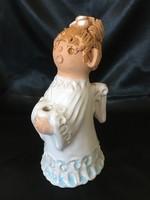 Antalfiné Szente Katalin kerámia angyalka