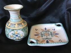 Gorka váza és tál