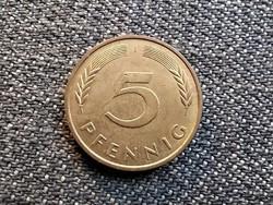 Németország 5 Pfennig 1996 J (id24056)