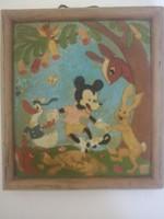 Art deco 30 40évek magyar disney mickey mouse dr rank kerámia
