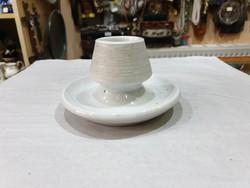 Régi porcelán gyufatartó
