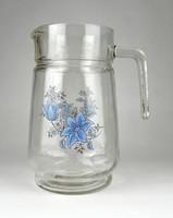 1B220 Retro üveg vizeskancsó boroskancsó