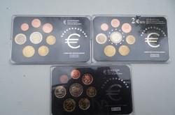 3 darabos szett euro forgalmi sor