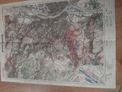 BUDAI HEGYEK  Cserkészek térképe