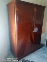 Art-Deco akasztós, polcos szekrény párban
