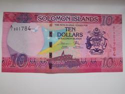 Salamon szigetek 10 dollár 2017 UNC