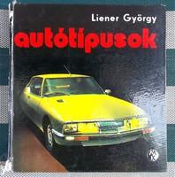 Liener György autótipusok 1971