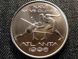 XXVI. Nyári olimpia - Atlanta (vívás) ezüst 1000 Forint 1995 BP BU (id25535)