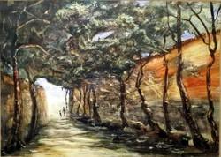 Charles Sykes:  Spanyol séta – Angol királyi társaságnál jegyzett festmény