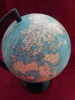 Világító földgömb, átmérője 25 cm, Magassága 40 cm.