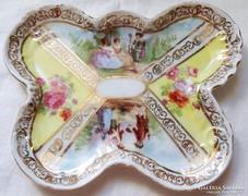 Zsáner Jelenetes Porcelán Tálka Sevres