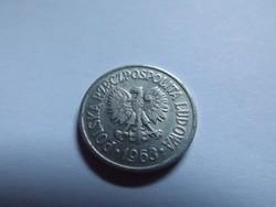 Szép 10 Groszy Lengyelország  1963 !!
