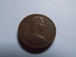 Szép Angol 1 Penny 1974  !