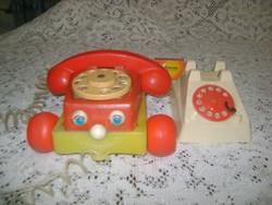 Retro játék telefon - két darab - alkatrésznek vagy javításra