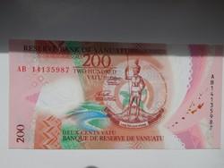 Vanuatu 200 vatu 2014 UNC