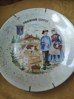 Scenic bocis french plate wall decoration