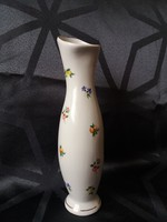 Aquincumi virágos porcelán váza
