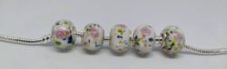 Muránói üveg gyöngyök, fitt charm Pandora karkötőre, nyakláncra