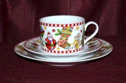 Ünnepi / karácsonyi reggelizős szett  ( DBZ 0038 )