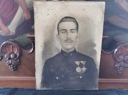 Régi katona fotó, fénykép