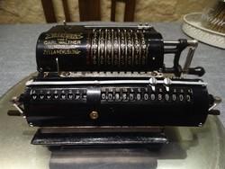 Carl Walther  Mod 1 . 1924- Waffenwerk 4 fukciós kalkulátor. RESTAURÁLT MŰKÖDIK .